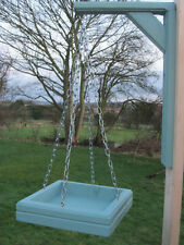 Hanging Wild Bird Table Feeder & Bracket Hand Made in UK. Choice of Colour