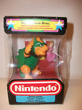 Rare Vintage Nintendo Super Mario Trophy Figure ~ Bowser Princess Toadstool NIB