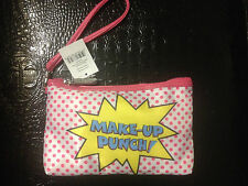 GLAMM WHAMM WRISTLET/MAKE UP CASE white  ! SUPER CUTE BNWT