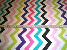 CHEVRON ZIGZAG STRIPE SHI SHI ORCHID MICHAEL MILLER COTTON QUILT FABRIC