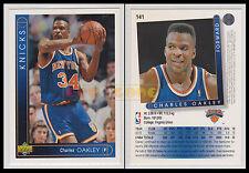 NBA UPPER DECK 1993/94 - Charles Oakley # 141 - Knicks - Ita/Eng - MINT