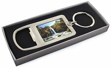 Waterfall Chrome Metal Bottle Opener Keyring in Box Gift Idea, W-1MBO