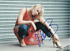 NATASHA BEDINGFIELD Signed 12x8 Photo POCKETFUL OF SUNSHINE COA