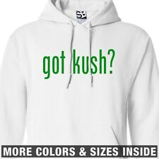 Got Kush? HOODIE - Hooded Purple Purp Marijuana Sweatshirt - All Sizes & Colors