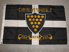 HORSE STUD FARMS IN CORNWALL ONE AND ALL, ST.PIRANS FLAG, 5 X 3, BNIP