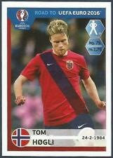 PANINI ROAD TO UEFA EURO 2016- #178-NORWAY-TOM HOGLI