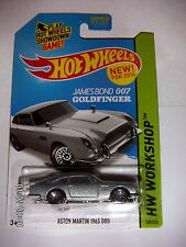 HOT WHEELS 2014  HW WORKSHOP  Aston Martin 1963 DB5  JAMES BOND 007  GOLDFINGER