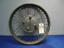 BSA A7 A10  Rear wheel complete goldstar  B33      D880