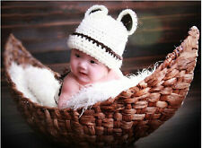 Newborn Baby Photography Prop Handmade Woven Crescent Basket Infant Boat Box