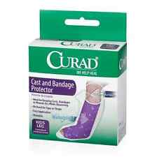 Curad Cast and Bandage Protector, Waterproof, Kid's Leg 2 ea