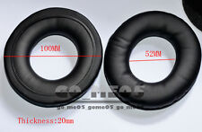 "100mm ear pads cushion earpad cover replacement foam for headset 10cm 4"" inch uk"