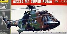 Heller Aerospatiale Super Puma AS332 M1 Modell-Bausatz 1:72 Schweiz France kit