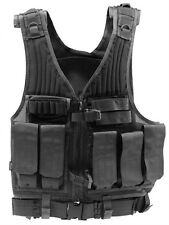 Drago Gear Fast Strike Tactical Vest (Black) Duty Vest Security Vest