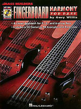 Fingerboard Harmony For Bass Bass Builders Learn to Play Guitar Music Book