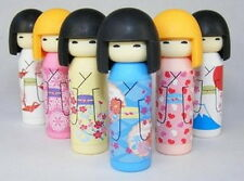 Japanese Iwako Erasers Set - Japanese Kokeshi Doll 6 pcs