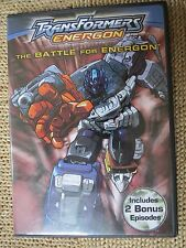 Transformers: Energon - The Battle for Energon (DVD, 2004)
