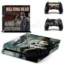 Walking Dead Who Will Survive Vinyl Skin Decals for PS4 Playstations Controllers