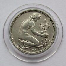 BRD 50 Pfennig 1949 D, Bank deutscher Länder, Erhaltung!