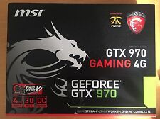 MSI NVIDIA GeForce GTX 970 Gaming 4g (4096 MB) (v316-001r) Scheda grafica