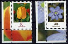 2484-2485 ** , BRD 2005, Blumen. Tulpe + Leberblümchen    ELU