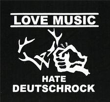 Love Music Hate Deutschrock Patch / Aufnäher NEU 1,20€ Punk FCK Frei.Wild Oi!