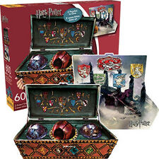 Harry Potter Quidditch Set 2 Sided Die Cut 600 Piece Jigsaw Puzzle, NEW SEALED