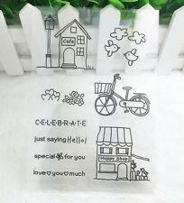 Bike#1 Silicone Rubber Clear Stamp Seal Scrapbooking Diary Christmas Card