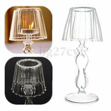 Retro Romantic Crystal Candle Holder Light Wedding Dinner Home Decor Candlestick