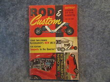 Rod & Custom Magazine July 1960 3rd Issue 8th Year Compacts In The Quarter Z807