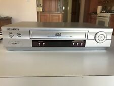 Samsung VR8460A VCR Video Cassette Recorder VHS Player *No Remote* Silver
