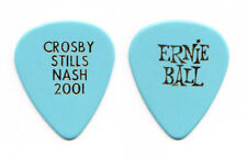 Crosby Stills & Nash Blue Guitar Pick - 2001 Tour - CSN