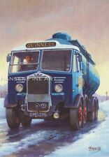 Guinness Albion Classic Truck Lorry Driver Trucker Beer Christmas Xmas Card