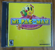Ms. Pac-Man : Quest for the Golden Maze - PC CD Computer game Disc Manual
