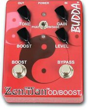 Budda ZenMan Overdrive / Boost  Electric Guitar Effects Pedal