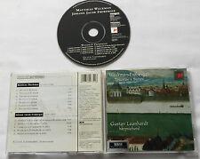 G.LEONHARDT / WECKMAN-FROBERGER Toccatas & Suites  CD SONY SK 62732 (1997)