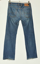 Mens Diesel Viker Straight Leg Regular Fit Mid Blue Jeans W28 L32