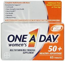One A Day Women's 50+ Advantage Multivitamins, 65 Count