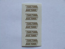 Really Useful Spares Repro Scalextric Decal Sheet RUD11 race tuned  gold x5