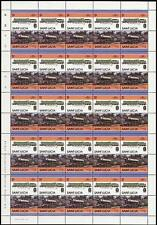 1922 NER City of Newcastle LNER A2 Train 50-Stamp Sheet (Leaders of the World)