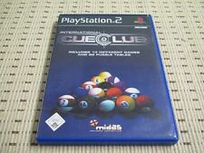 International Cue Club pour playstation 2 ps2 ps 2 * OVP *