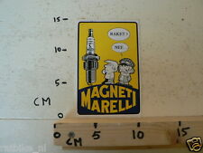STICKER,DECAL MAGNETI MARELLI BOUGIE RAKET NEE