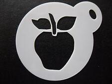 Corte Láser Diseño Pequeño de Apple, Cookie, Craft & Plantilla de Pintura de cara
