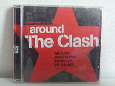 CD ALBUM Les inrockuptibles Around the Clash JUNIOR MURVIN RACHID TAHA STROKES