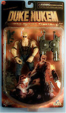 RARE Duke Nukem The Action Figure + Weapons! ReSaurus 1997 3D Realms NEW in BOX!