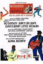 PUBLICITE 1992    WINSTON WAY  radio  BO DDIDLEY JERRY LEE LEWIS CHUCK BERRY LIT