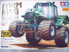 Tamiya 58556 1/10 FARM KING Wheelie R/C w/ 105BK ESC WR-02G Truck +bonus parts