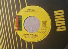 Esther Phillips – For All We Know / Fever (M-)