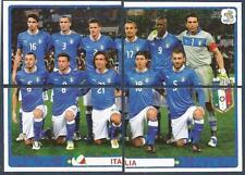 PANINI EURO 2012- #312/313/314/315-ITALIA-ITALY TEAM PHOTO