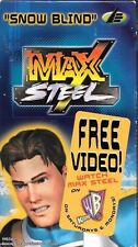 """Max Steel """"Snow Blind"""" Free Promotional VHS TV Cartoon Episode 2000"""