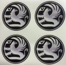 4x 55 mm fits VAUXHALL wheel STICKERS center badge centre trim cap hub alloy sil